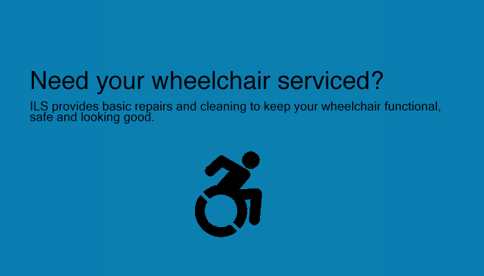 Ils provides wheelchair repairs and cleaning services